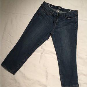 Ann Taylor loft 12 original crop jeans
